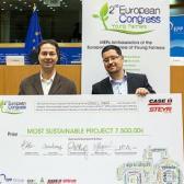 Bakó Dániel fiatal gazda termálvíz projektje nyert az Európai Parlamentben